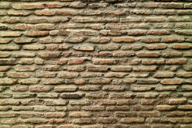 Vecchio muro di mattoni per sfondo o banner