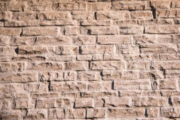 Vecchio muro di mattoni, sfondo di testo