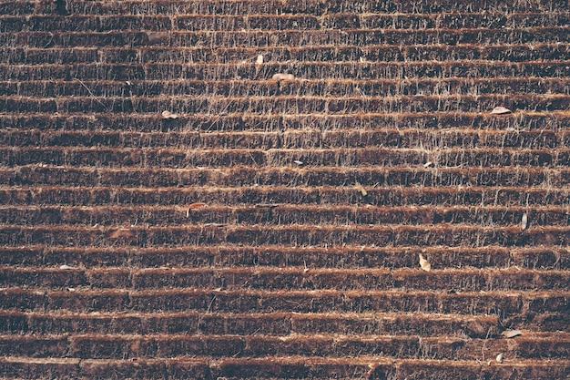 Vecchio muro di mattoni, texture di sfondo di mattoni