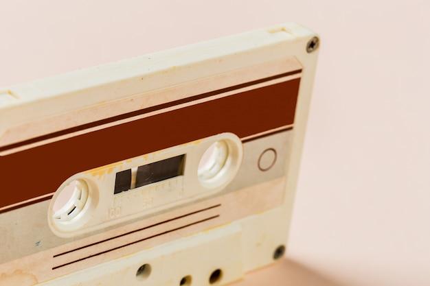 Vecchio nastro a cassetta audio