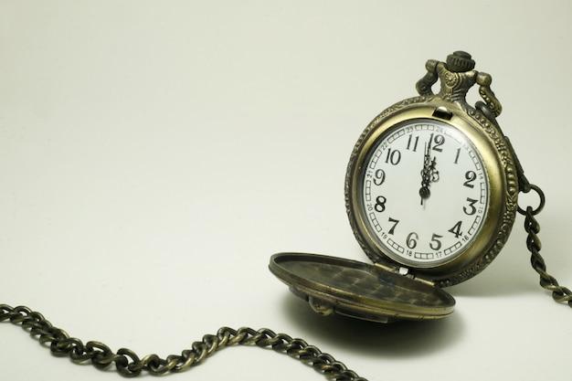 Vecchio orologio da tasca