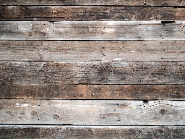 Vecchio pavimento in legno con una grande trama di design