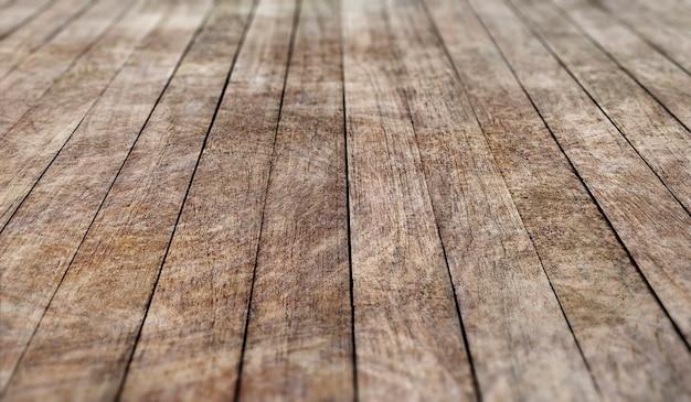 Vecchio pavimento in legno
