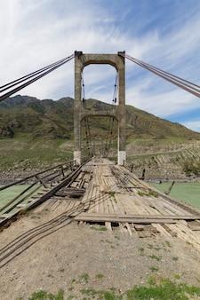 Vecchio ponte di legno