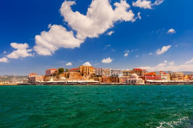 Vecchio porto, chania, creta, grecia
