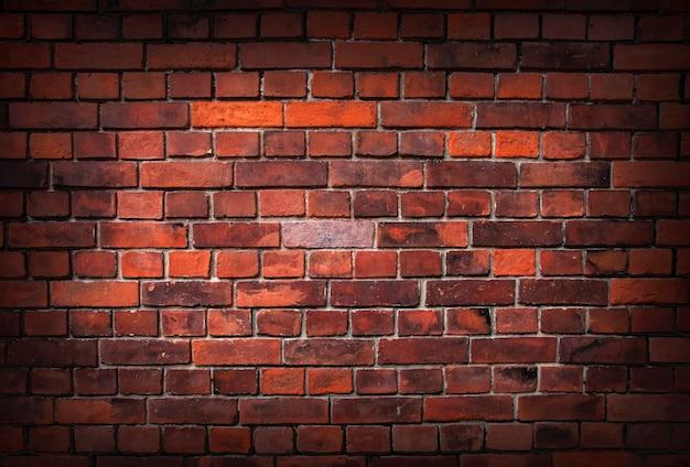 Vecchio sfondo di muro di mattoni