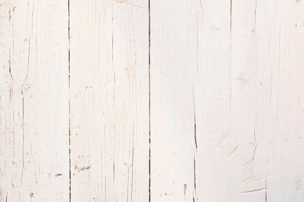 Vecchio sfondo in legno bianco