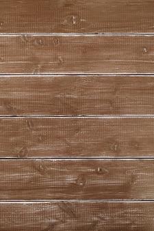 Vecchio verticale di legno della superficie del fondo della plancia marrone d'annata