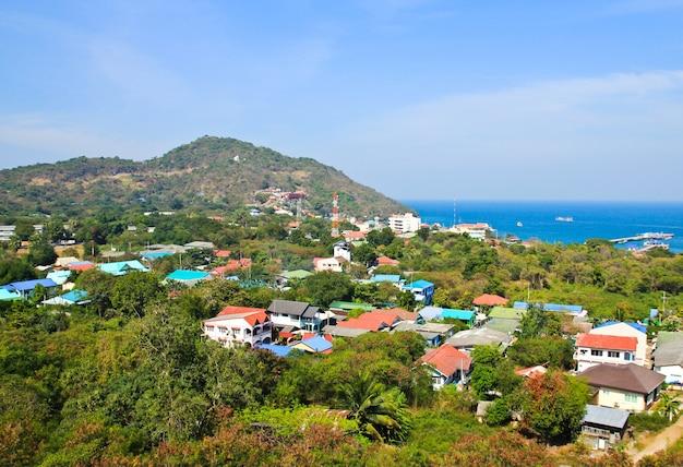 Veduta aerea dell'isola di sichang