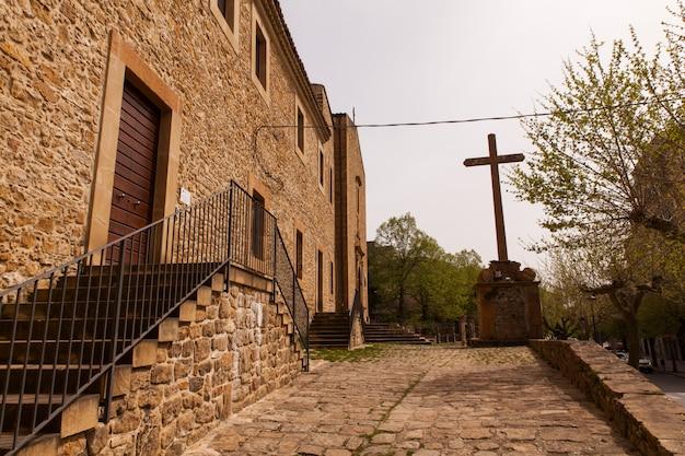 Veduta della chiesa di san pietro in piazza armerina