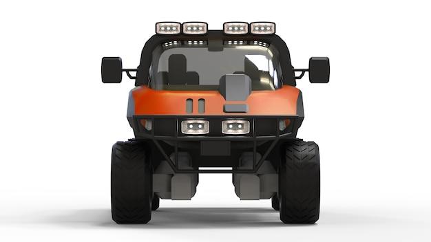 Veicolo fuoristrada speciale per terreni difficili e difficili condizioni stradali e meteorologiche