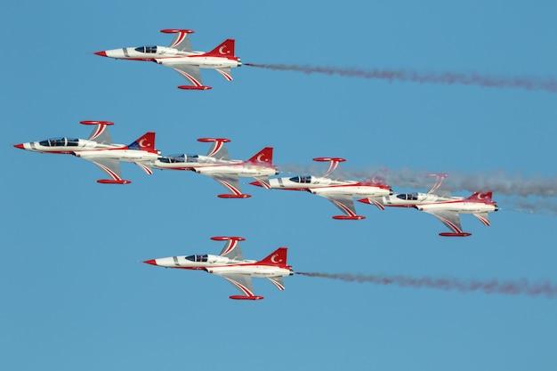 Velivolo northrop freedom fighter delle stelle turche
