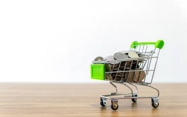 Vendita online di carrello della spesa di convenienza dell'e-commerce