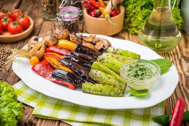 Verdure arrostite alla griglia