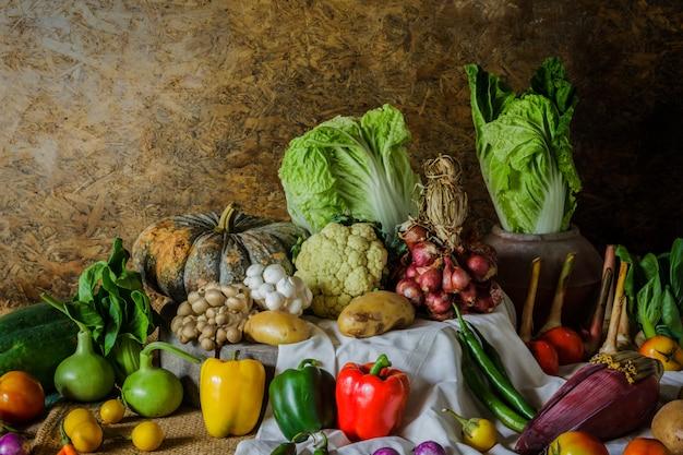 Verdure, erbe e frutta