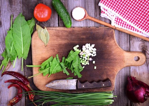 Verdure fresche per insalata