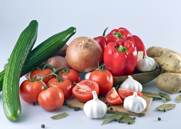 Verdure organiche fresche