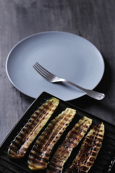 Verdure zucchine grigliate