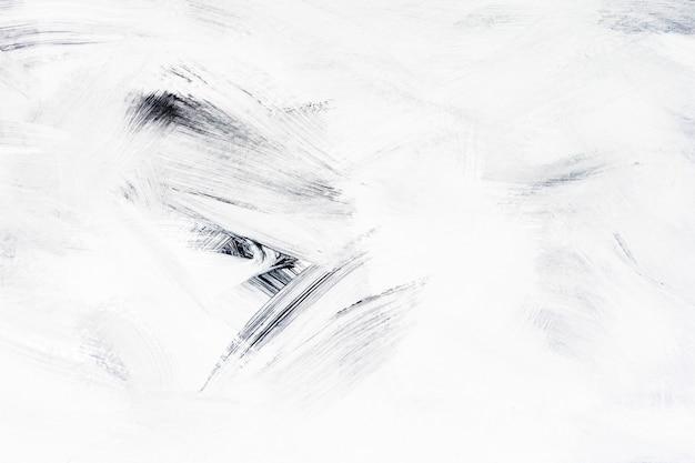 Vernice bianca su una tela