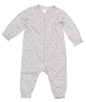 Vestiti del bambino isolati su fondo bianco