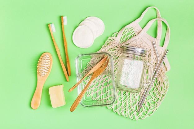 Vetreria, borsa in cotone e articoli per la cura della persona