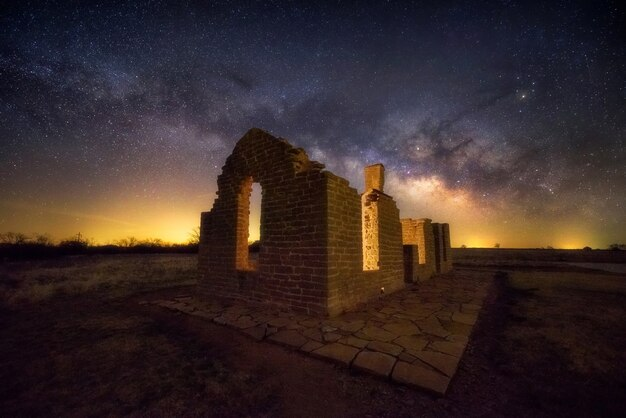 Via lattea a fort griffin, in texas