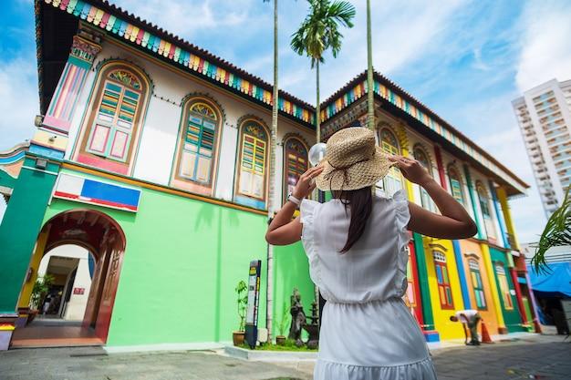 Viaggiando nella piccola india a singapore