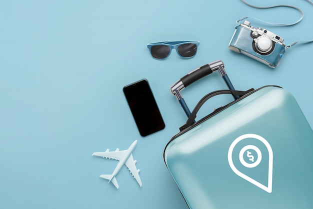 Viaggio e aereo con i bagagli