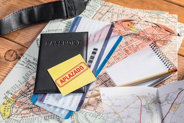Viaggio sospeso a causa di covid19