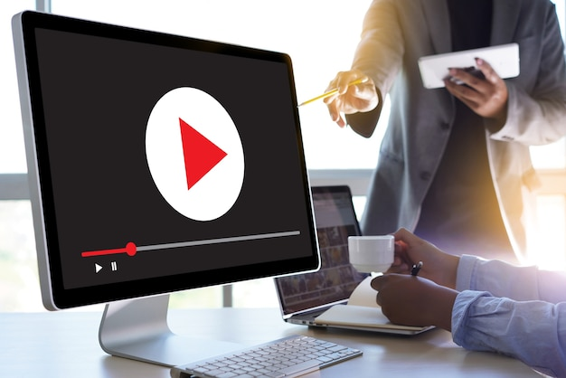 Video marketing audio video, canali di mercato interattivi