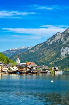 Villaggio di hallstatt, austria