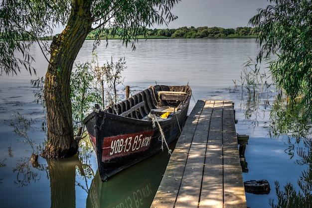 Villaggio vilkovo nella regione di odessa, ucraina