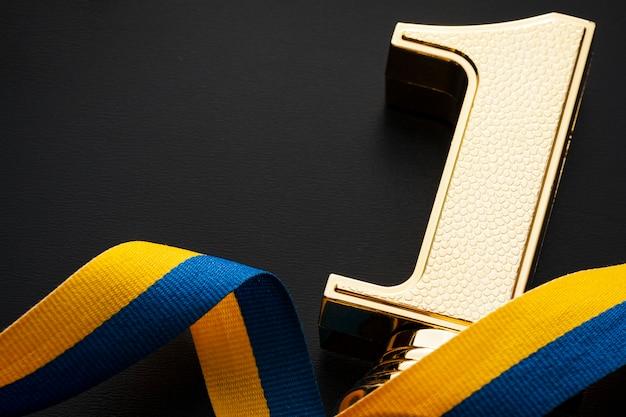 Vincitore del premio d'oro numero uno