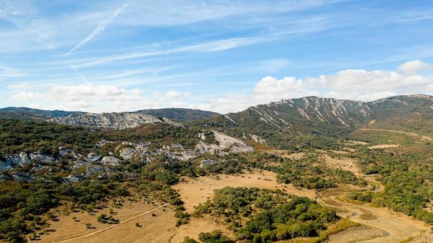 Vista aerea del paesaggio mozzafiato