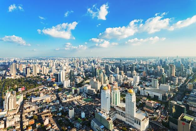 Vista aerea di bangkok