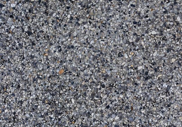 Vista dall'alto del pavimento di cemento