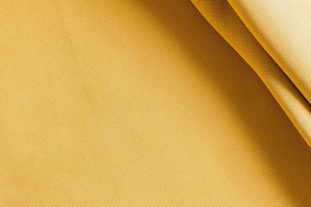 Vista dall'alto elegante trama dorata