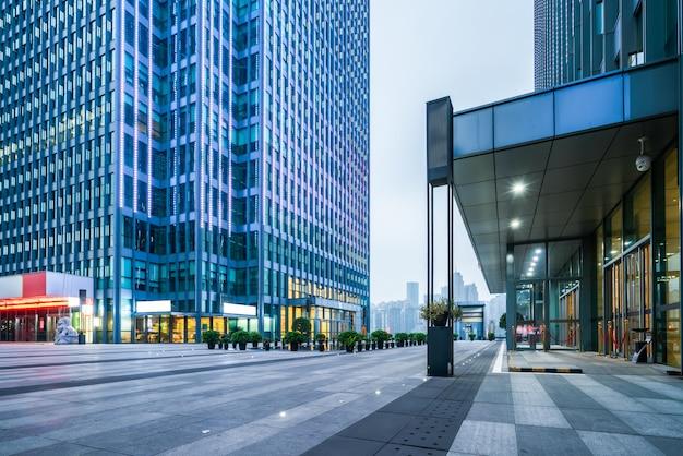 Vista dall'edificio per uffici