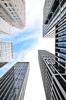Vista dei grattacieli