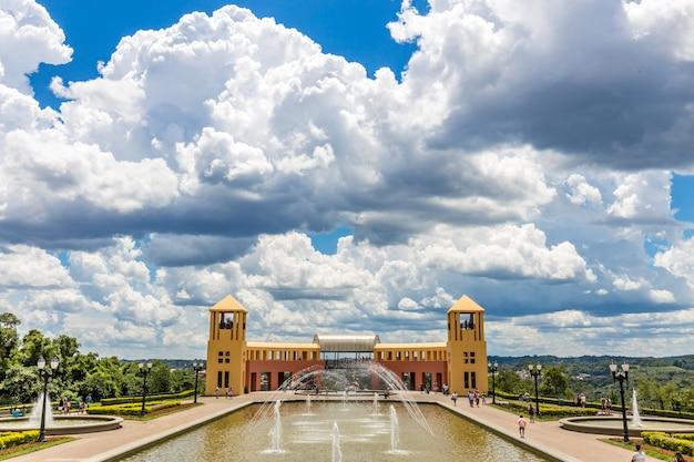 Vista del parco di tangua