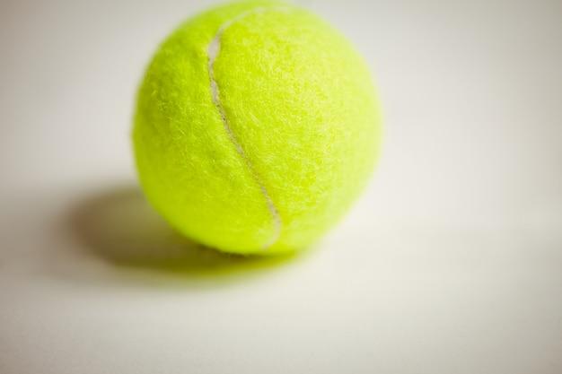 Vista della palla da tennis