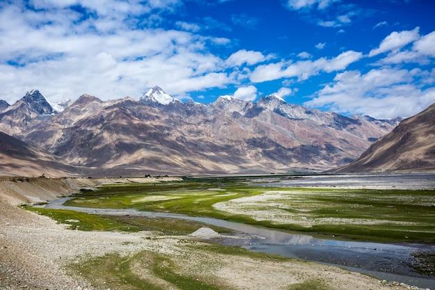 Vista della valle di zanskar