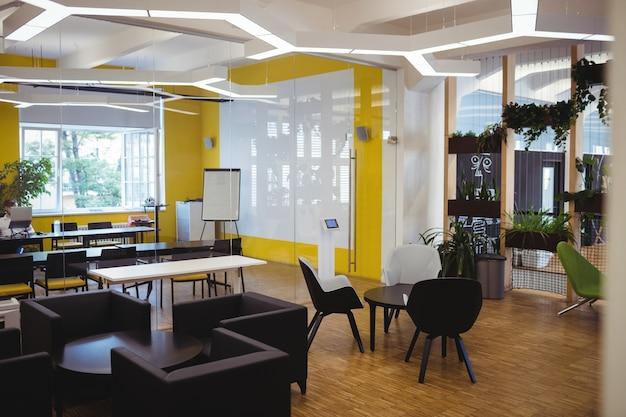 Vista di ufficio moderno