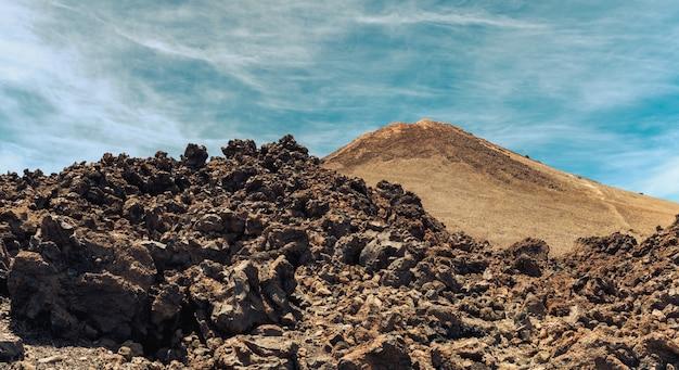 Vista panoramica del picco del teide