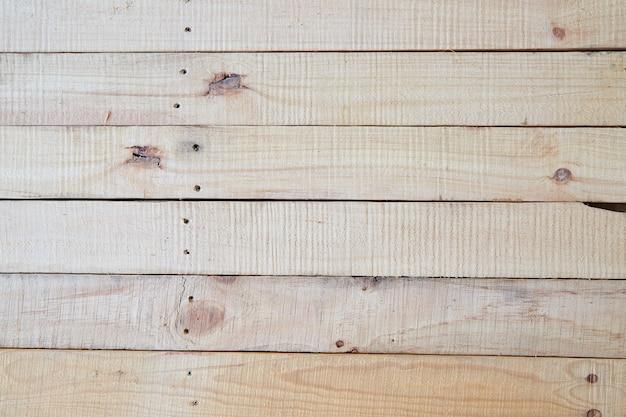 Vista prospettica del pavimento in legno con legno