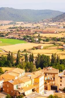 Vista rurale nella periferia di cardona