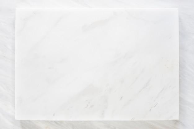 Vista superiore dello strato di marmo bianco con struttura di marmo grigio