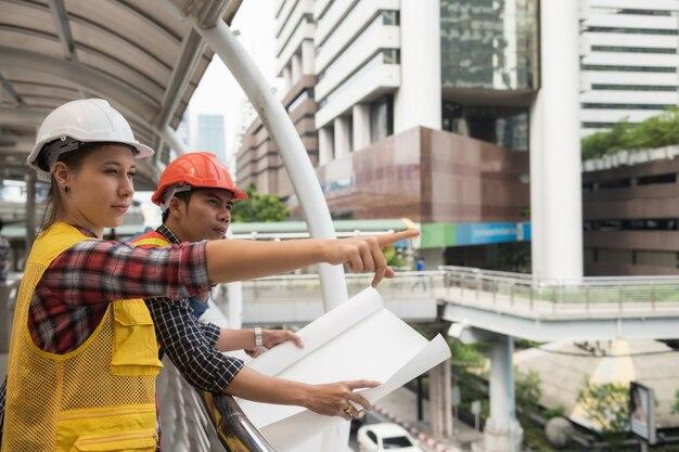 Visualizza il piano di progetto per il cantiere