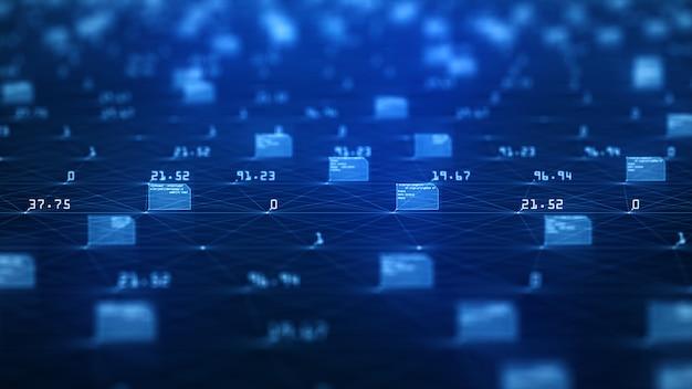 Visualizzazione di grandi quantità di dati
