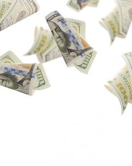 Volare banconote da cento dollari